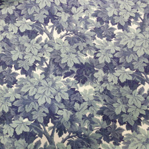 Digital Printed Leaves Trees Wall Paint Design Upholstery Fabric