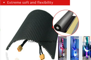 Soft LED Display Rubber Flexible LED Screen LED Ribbon P4 pictures & photos