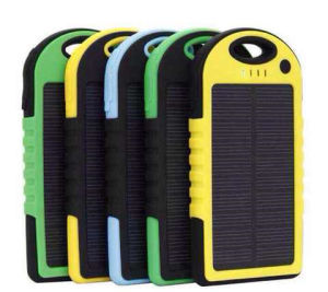 Solar Portable Power Bank Charger pictures & photos