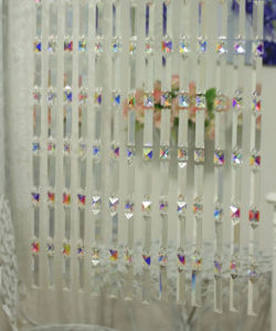Party Decoration of Crystal Prisms Curtain pictures & photos