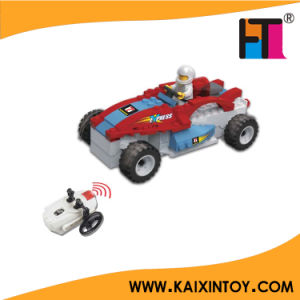 Mini RC Building Block Police Car Toy pictures & photos
