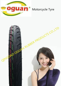 55% Rubber Content of High-Quality Motorcycle Tire of 60/80-18 pictures & photos
