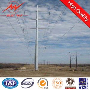 Transmission Electrical Power Distribution Galvanized Pole pictures & photos