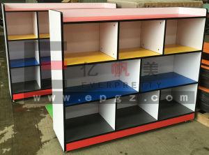Gorgeous Kindergarten Kids Toys Cabinet for Children Classroom pictures & photos