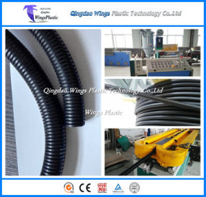20m/Min PE PP Corrugated Hose Production Line, Flexible Pipe Making Machine pictures & photos