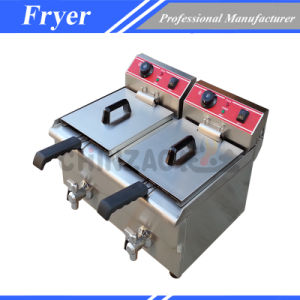 Electric Chicken Deep Fryer Machine 34L pictures & photos