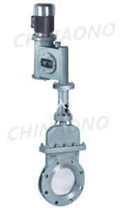 Electric Hydraulic Knife Gate Valve Wafer Type pictures & photos