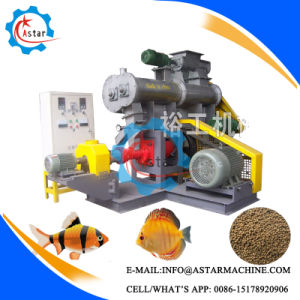 Extruding Floating Fish Food Pellet Making Machine pictures & photos