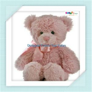 2017 Cheap Plush and Stuffed Teddy Bear Toys Animal Promotion (FLWJ-0073)