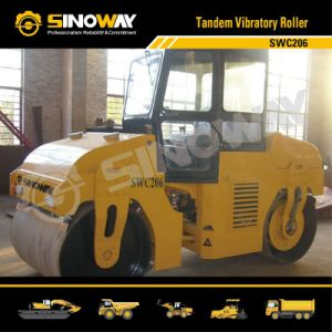 Sinoway Tandem Vibratory Road Roller (SWC206) pictures & photos