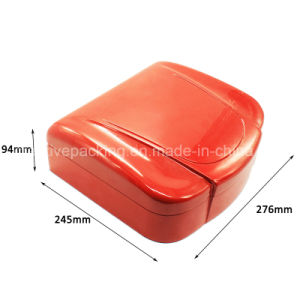 Red Color Wooden Coin Box pictures & photos
