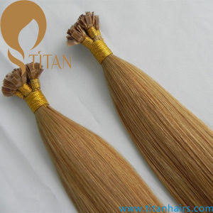 Virgin Human Hair Flat Tip Hair Extension pictures & photos