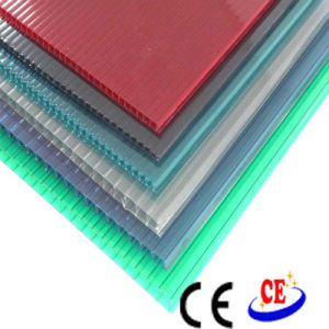 Polycarbonate PC Hollow Sheet with UV Protection