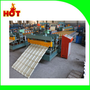 Dx 840 Glazed Tile Roof Panel Forming Machine pictures & photos