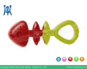 """7""""Rubber Fish Bone Dog Toy Pet Product pictures & photos"""