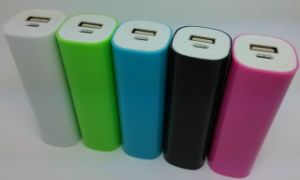 Cylindrical Power Bank with 2200mAh Capacity pictures & photos