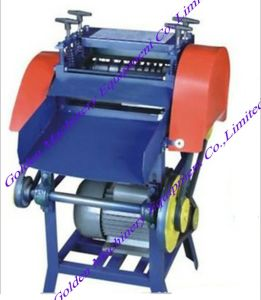 Selling Waste Electrical Cable Wire Stripper Stripping Peeling Machine pictures & photos