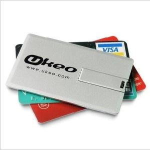 Your Logo on USB Card Driver as Christmas Gift Promotion Products pictures & photos