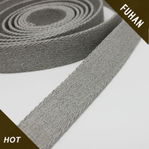 Good Quality Washable Grey Polyester Webbing pictures & photos