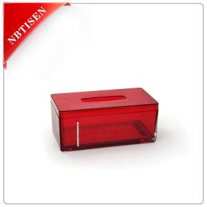 Acrylic/Plastic Tissue Box (TS8002-G)