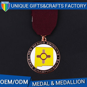 Custom Blank for Medal Swimming Champion Award Medallion pictures & photos