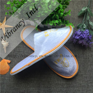 Best Quality Disposable Hotel Slippers for Airline pictures & photos