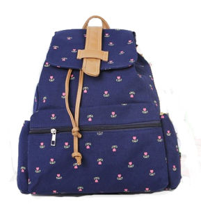 Leisure Printing Canvas Backpack Bag for School pictures & photos