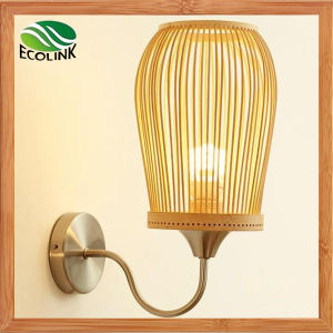 Bamboo Lampshade Wall Light / Wall Lamp for Home Decorative pictures & photos