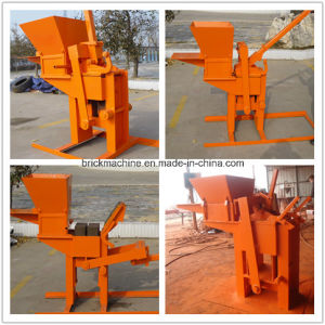 Hr1-30 Hand Presser Lego Small Clay Soil Block Making Machine Price pictures & photos