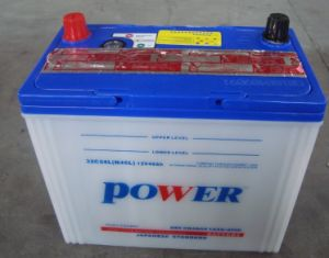 N40L 12V40ah Dry Charged Lead Acid Car Battery pictures & photos