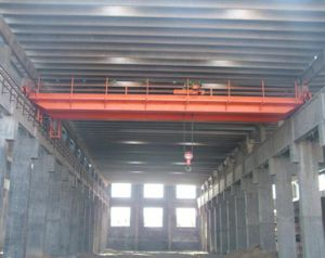 5ton ~ 32ton Double Girder Overhead Crane with Electric Hoist pictures & photos