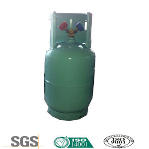 Refrigerant R134A in Refillable Double Valve Cylinder with CE Certificate pictures & photos