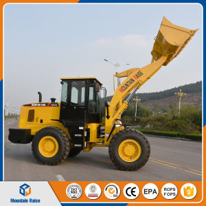 Ce Approved Mini Front Loader 3t Wheel Loader with Quick Hitch pictures & photos