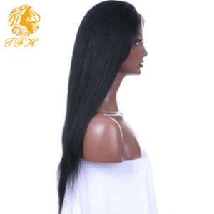 8A Brazilian Full Lace Human Hair Wigs for Black Women Straight Lace Front Human Hair Wigs with Baby Hair Glueless Full Lace Wig pictures & photos