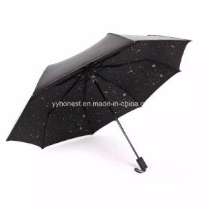Custom Full Inside Print Design Star Night Sky Sunshade Umbrella pictures & photos