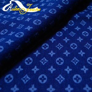 Aufar New Design Stretch Printing Denim Fabric