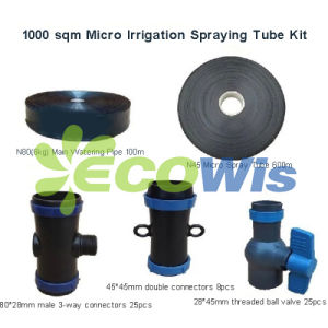 1000sqm Micro Spraying Tube Irrigation Kit (HT1125) pictures & photos