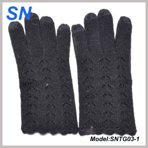 New Fashion Lady Texting Wool Gloves for iPad, iPhone (SNTG03-1) pictures & photos