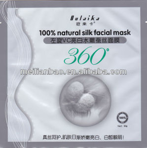 Whitening L-Vc Face Treatment Natural Silk Mask pictures & photos