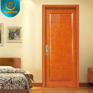 Brief Style Decoration Swing Cherry Commercial Door for Egypt Market pictures & photos