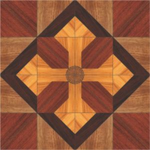 Luxurious Parquet Engineered Laminated Wood Flooring pictures & photos