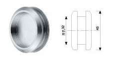 Stainless Steel Shower Knob (SK-06) for Sliding Glass Door pictures & photos