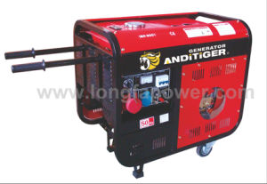 5kw 220V Open Type Diesel Engine Generator with CE Soncap pictures & photos