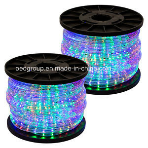RGB Color LED Rope Light 220V pictures & photos