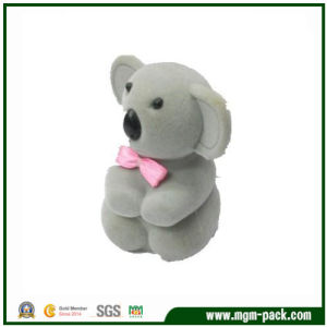 Cute Animal Shaped Flocking Jewellery Gift Box pictures & photos