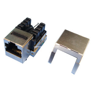 Cat. 6 RJ45 STP Shielded Keystone Jack pictures & photos