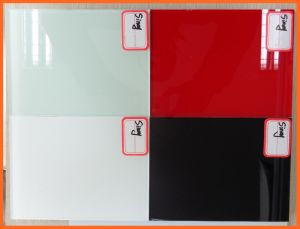 Quality Back Painted Glass, Lacquered Glass for Decorative Glass Wall pictures & photos