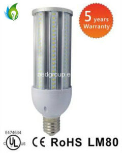 5 Years Warranty CE RoHS UL 60W LED Corn Bulb with 85-350V and 115lm/W pictures & photos