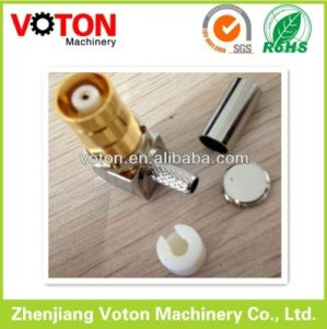 1.6/5.6 Female B/H Right Angle Crimp for Ra8000 Cable