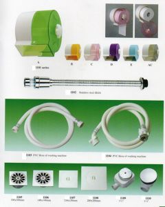 Tissue Roller, Stainless Steel Drain, PVC Hose for Washing Machine pictures & photos